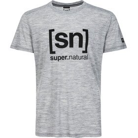super.natural Essential I.D. t-shirt Heren grijs